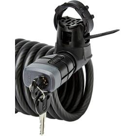 ABUS Booster 6512K Spiraal Kabelslot 180cm SCMU, zwart